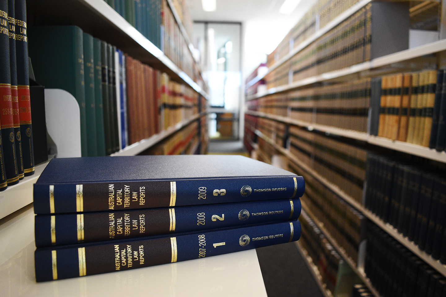 ACT Law Reports and Library Shelves